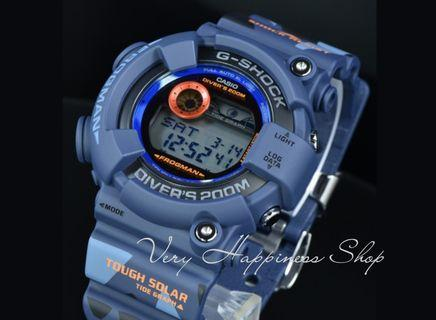 "GF-8250CM-2JR  Frogman 卡西歐品牌手錶""Casio""""G-Shock""日本機芯一年保養"