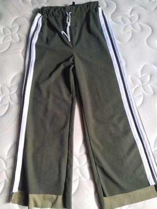 Stripe pants army