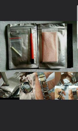 Cape Cod Watch Polishing Cloth and Fibreglass Scratch Pen for watch maintainance