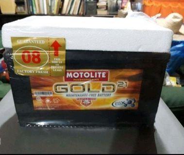 Motolite Car Battery Car Parts Accessories Carousell Philippines
