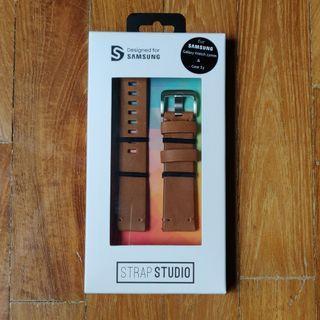 🚚 BNIB Samsung Watch Leather Strap 22mm Brown