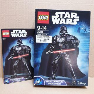 LEGO StarWars Darth Vader 75111 Empty Box + Manual