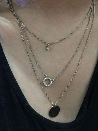H&M 3 Layer Necklace