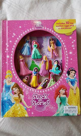 Disney Princess Stuck on Stories