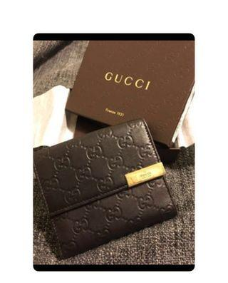 🚚 正品Gucci皮夾(附購買證明)九成新