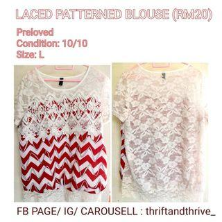 LACED WOMEN'S BLOUSE