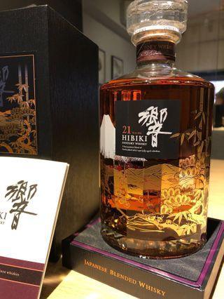 Hibiki 21 years Mt Fuji Limited Edition [Mint]