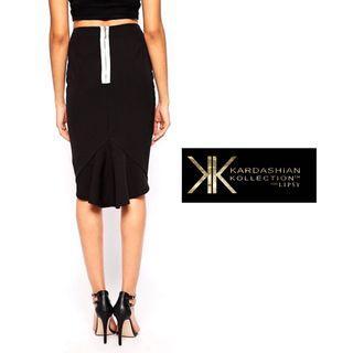 KARDASHIAN KOLLECTION   Peplum Skirt with Lipsy