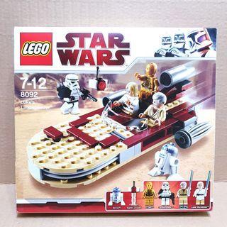 LEGO StarWars Luke's Landsperder 8092 Empty Box