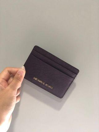 🚚 Michael Kors Money Pieces Leather Card Holder