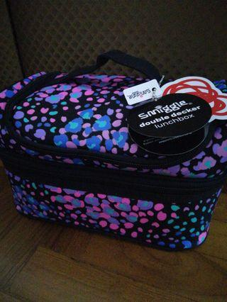 Smiggle double decker lunch box Cooler Bag
