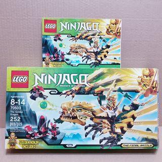 LEGO The Golden Dragon 70503 Empty Box +  Manual