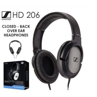 Audio-Sennheiser HD 206 Closed-Back Over Ear Headphones