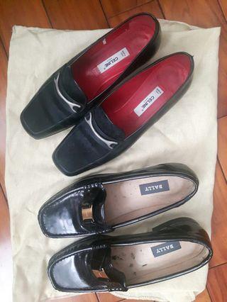 CELINE BALLY 平底鞋