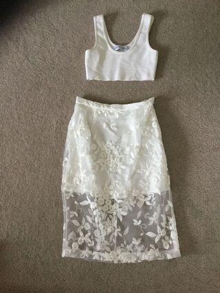 Misha Collection Skirt and Top