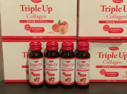 10000mg膠原蛋白飲品 - 三重美肌元素 (一盒10支)#MTRtko