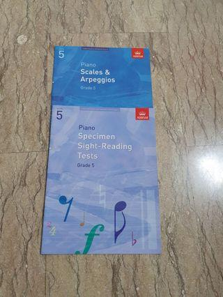 abrsm piano grade 5 scales | Books & Stationery | Carousell