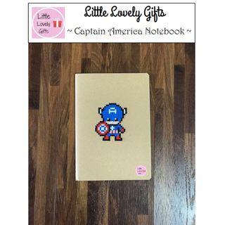 Captain America Notebook Set