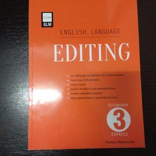 GLM Editing Secondary 3 Express #MRTSengkang