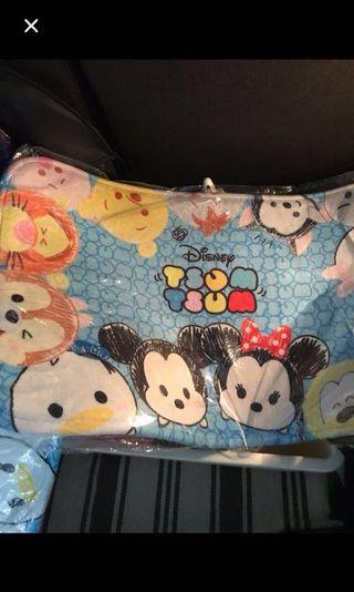 Tsum Tsum Floor Mat Kids Children Blue Disney