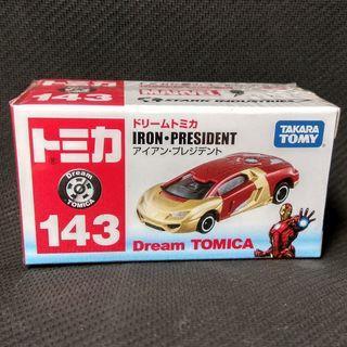 Brand New Iron Man Car Collectibles Tony Stark Avengers Takara Tomy