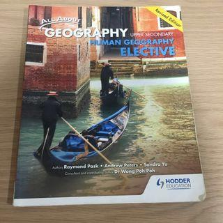 🚚 Upper Secondary All About Geography Elective ( Human Geography ) [ Revised Edition ]