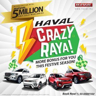 Haval Crazy Raya Sale Suv h1 h2