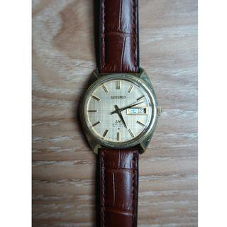 Seiko Lord Matic 5606-7000 Vintage Gold Plated Watch