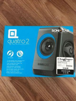 SonicGear Quatro 2 wired speakers
