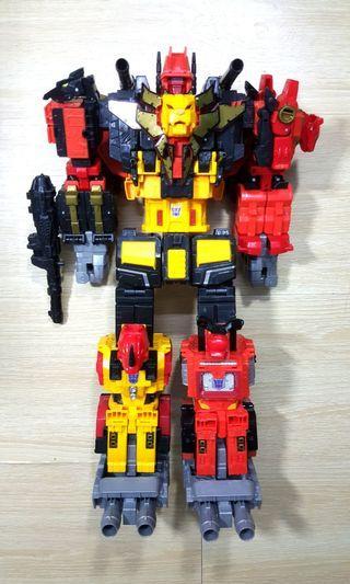 Transformers power of the primes Predaking