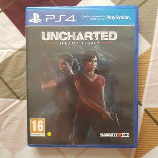BD PS4 Uncharted The Lost Legacy