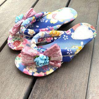Japanese GIrl's Kimono sandals 👡 #ENDGAMEyourEXCESS