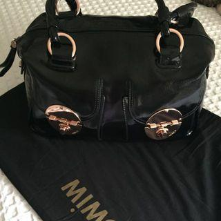Brand New MIMCO Turnlock Handbag