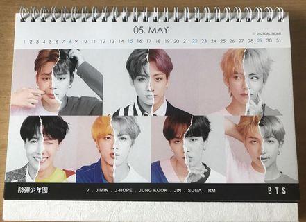 🚚 BTS 2020&2021 Combined Calendar