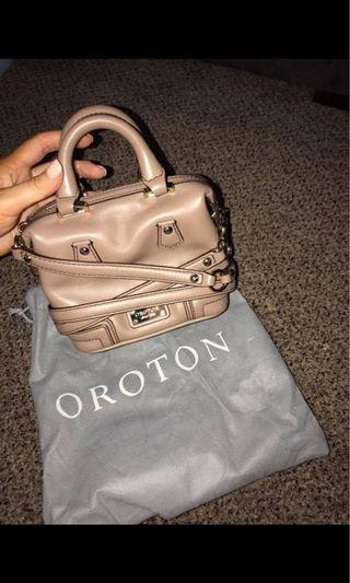 Oroton mini handbag