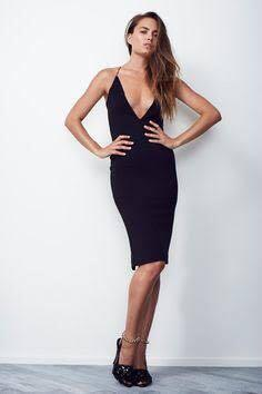 Maurie and Eve black bodycon