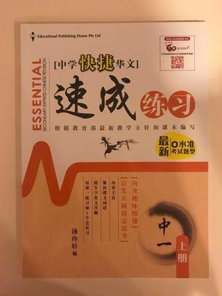wts secondary express chinese revision book