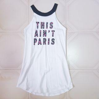 🧡INSTOCK Aint Paris White Halter long dress