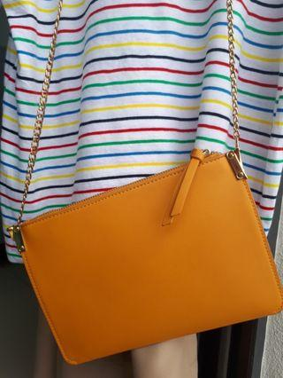 Yellow bag for women (Limited color) forever 21