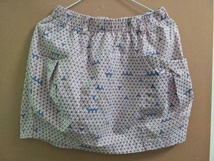 幾合圖短裙