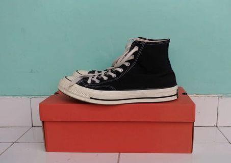 Converse 70s Hi Black White