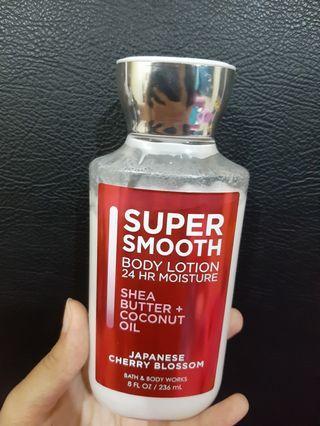 Body lotion BBW