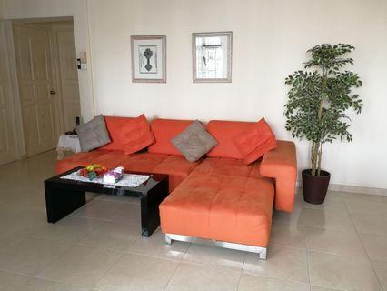 Sofa Set L shape ORANGE
