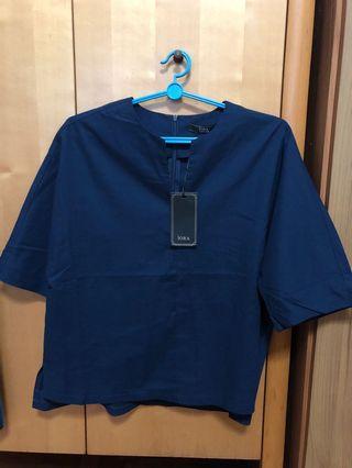 🚚 Navy Blue Top