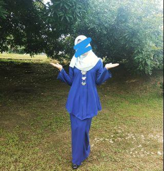 Kebaya Royal Blue