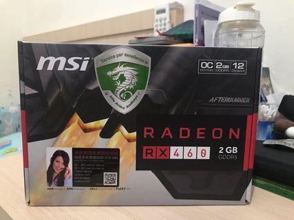 Jual VGA MSI Radeon RX460 2GB OC