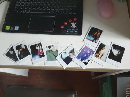 Kpop Poloraid Printing for fan events.