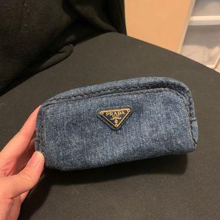 Prada cosmetic bag 化妝袋 100% 真 99% new