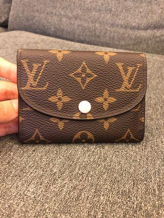 LV ROSALIE COIN PURSE LOUIS VUITTON Rose Ballerine M62361 銀包 卡片套 卡包 散銀包