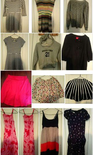 Clothes (for 9-12 y.o)